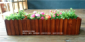 工厂定制批发阳台制品 环保实木长方形花盆 防腐木花槽松木花箱