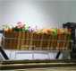 工厂直销阳台定制环保实木花盆 防腐木花箱室外田园风格防水防霉